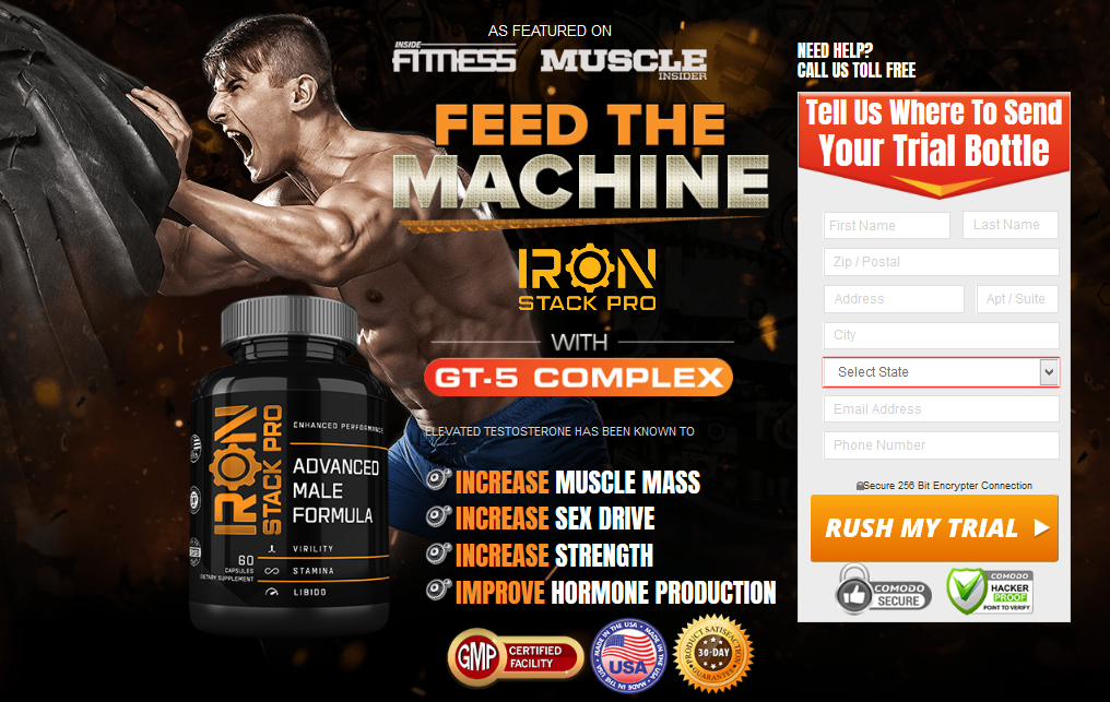 Iron Stack Pro Don't Buy Before Read US Report Cost Ingredients