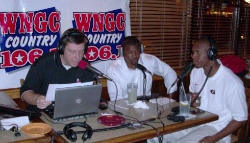 David Johnston, AJ Bryant, and Kelin Johnson broadcast the 5th Quarter Show on October 3, 2009