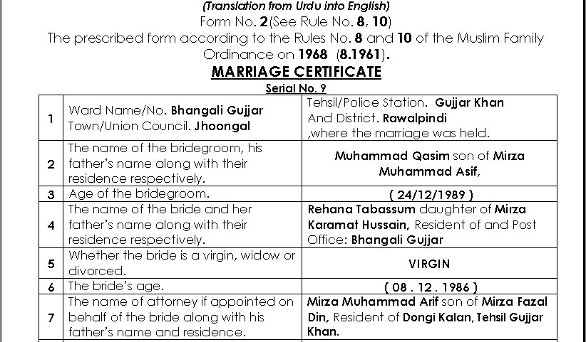 English nikah nama may format eng islamabad translation bureau english nikah nama may format eng yadclub Image collections