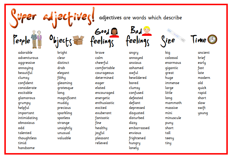 Grammar: adjectives, adverbs and verb tenses ... on can could able to be worksheets, common proper noun worksheets, kindergarten adjective worksheets, adjectives comparative superlative worksheet, kindergarten noun and verb worksheets, cut and paste verb tenses worksheets, types of nouns worksheets, proper adjectives worksheets, singular vs plural nouns worksheets,