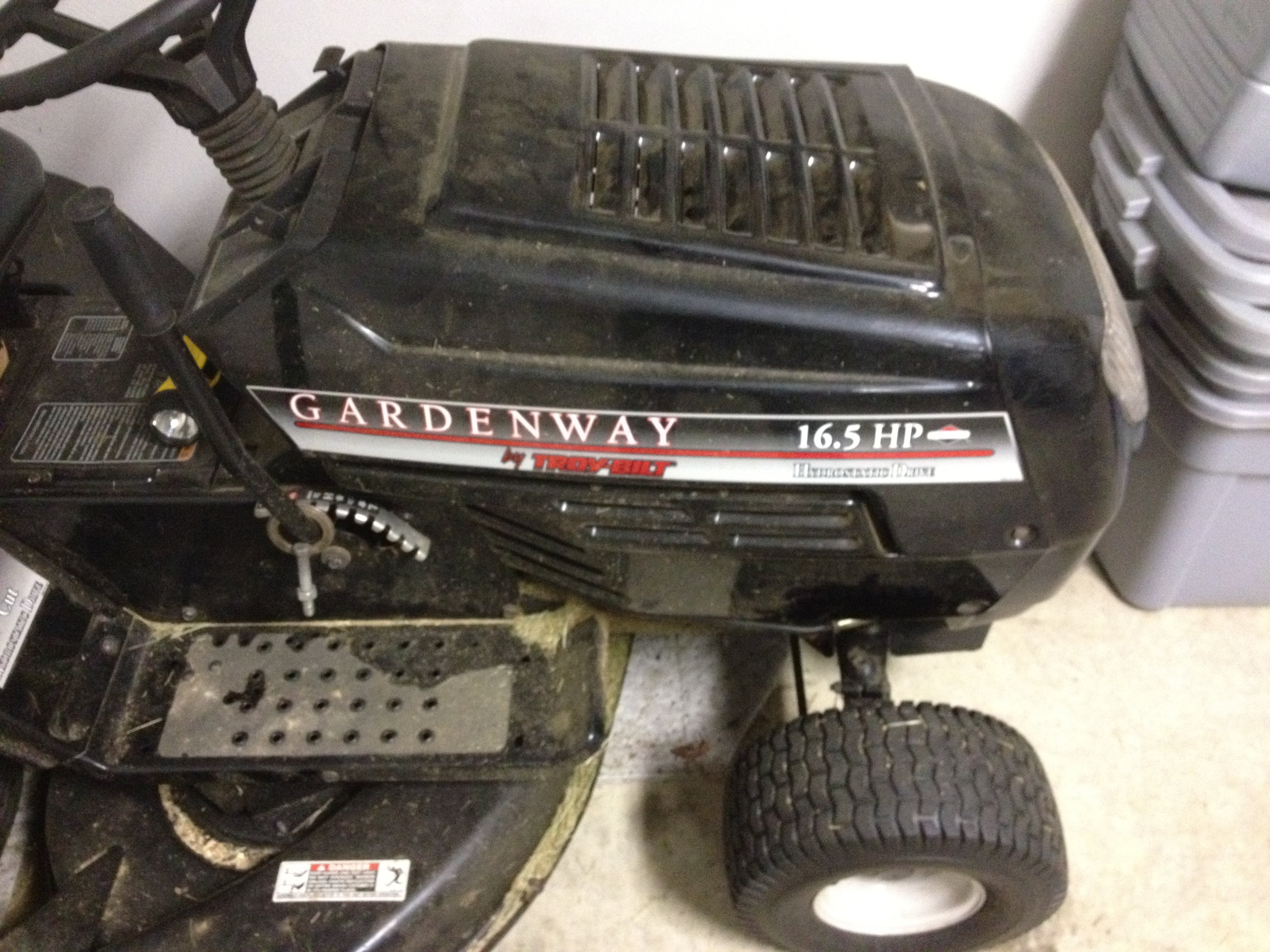 Gardenway By Troybilt Riding Mower Items For