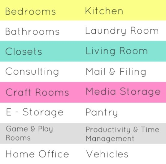 It's Tidy Time offers residential organizing services