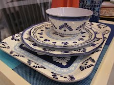 Azujelos dinnerware set