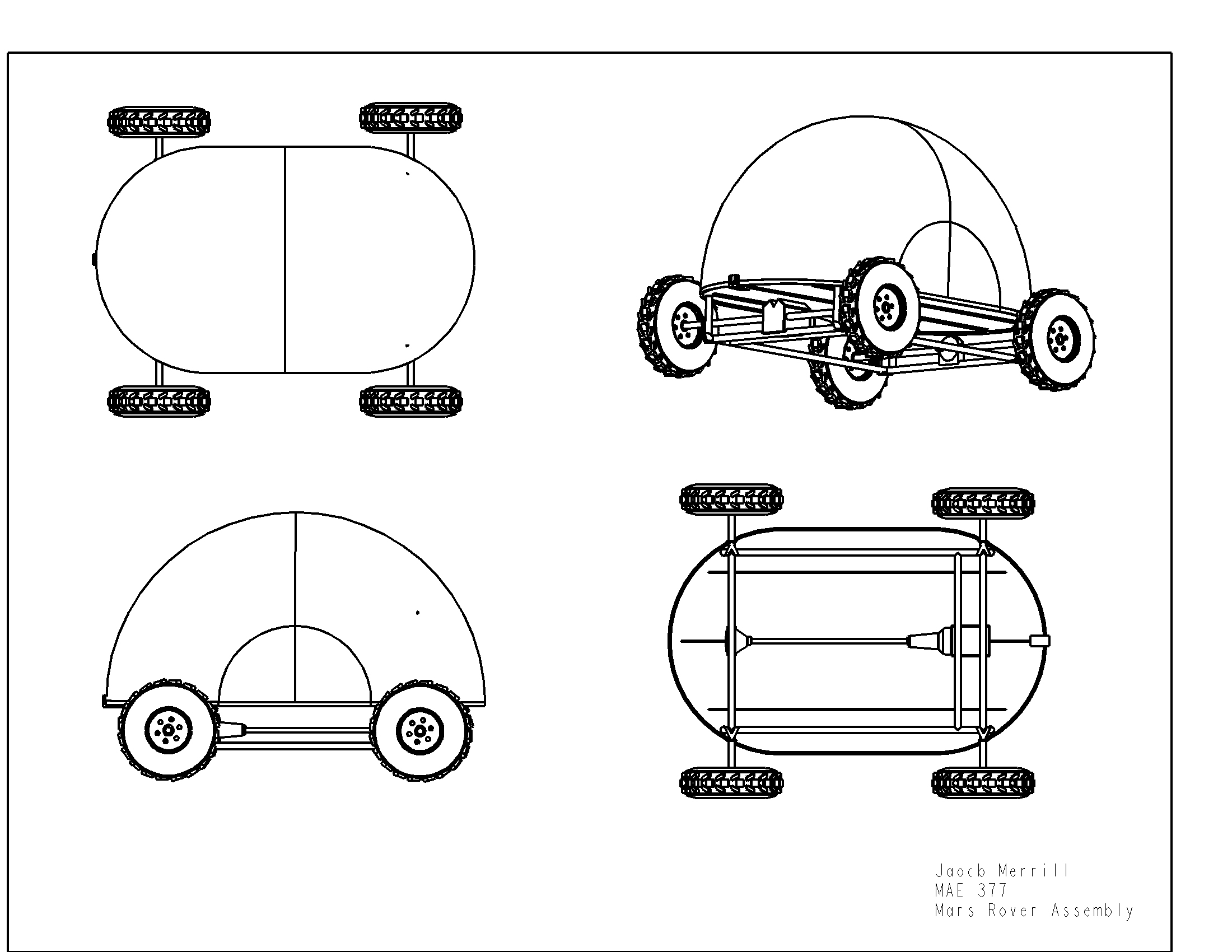mars curiosity rover technical drawing - photo #17