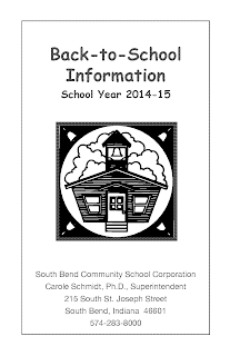 Back To School Info Booklet