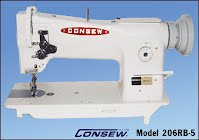 """""""Consew 206RB"""" NOW IN STOCK! CALL 904-465-2886"""