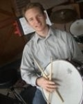 photo of me with a snare drum