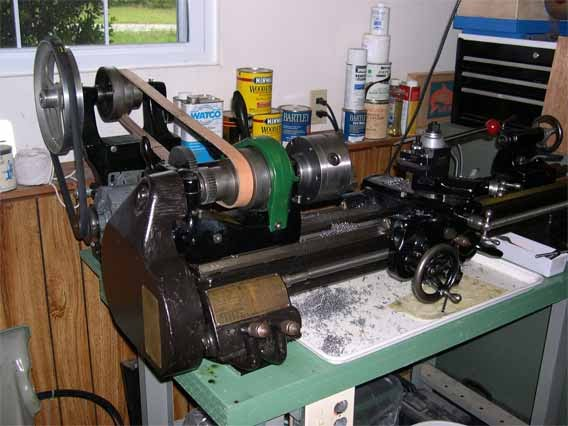 South Bend 9A Lathe - Jeff's Old Iron Workshop