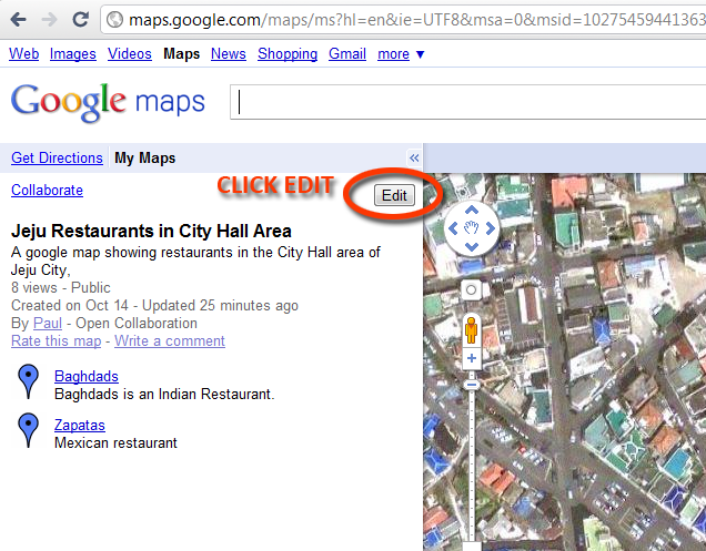 Add a Marker to Any Map! - Rhymes with Jeju Maps