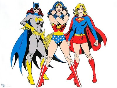 Zach Snyder's Super Ladies would not be wearing nearly as much as these incarnations are.