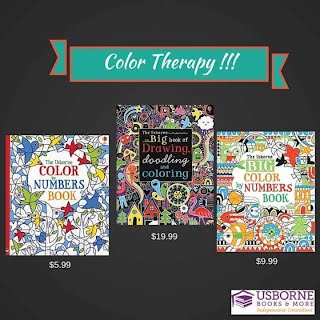 usborne offers many different coloring books and they are not just for kids a few of the coloring books that are great for adults are the rainforest to - Usborne Coloring Books