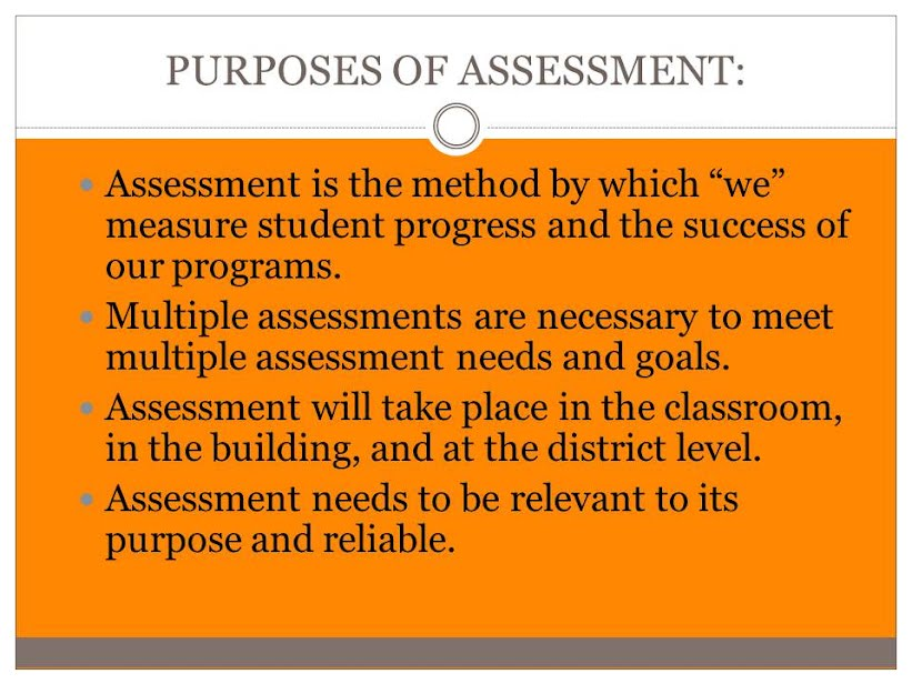 Please use the menu at the left to check out information on assessment within the Jerome School District.