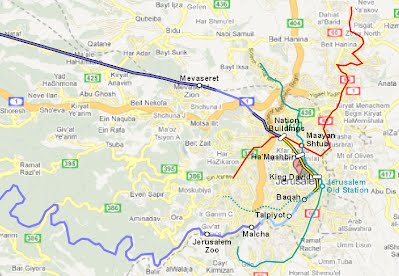 Linking the tracks is the obvious next step - Jerusalem Rail Loop