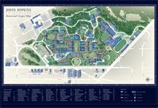 Homewood Campus Map
