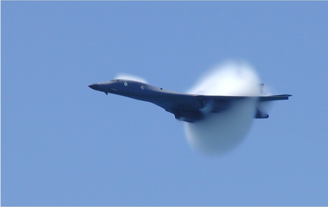 USAF - BOMBERS - MODERN - POST WWII - ( 2 OF 10 ) - B-1 ... B1 Lancer Supersonic