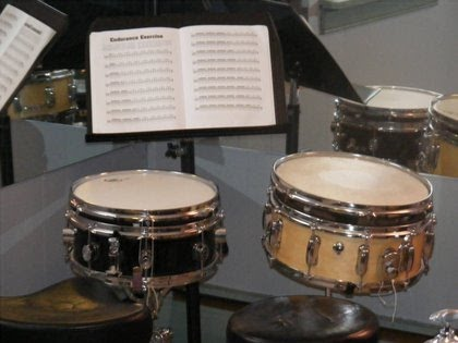 Snare Drum and Drum Pad Station