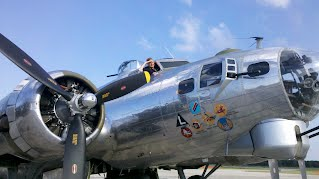 Rosies in the B-17 Yankee Lady at 2013 Thunder Over Michigan Airshow