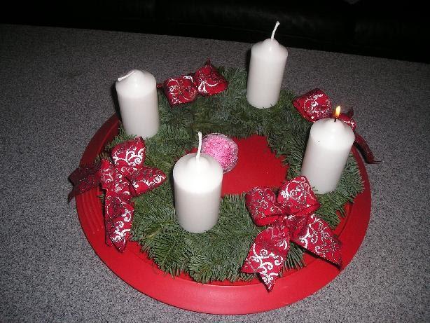 ใกล้คริสมาสต์มาจุดเทียนกันค่ะ