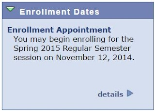 Enrollment Appointment Date