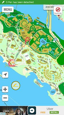 Sentosa hunt welcome to jimtohpogo way from resort world sentosarws i choose lake of dreams as point a mainly because it is a centralized location that can easily access to each spots gumiabroncs Gallery
