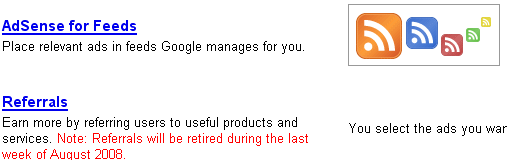 Adsense for Feeds Google new product