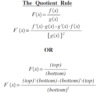 the quotient rule math with julie