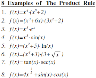 rule examples example calculus math derivatives step following answers introductory