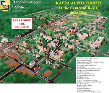 randolph macon campus map Kappaalphazeta randolph macon campus map