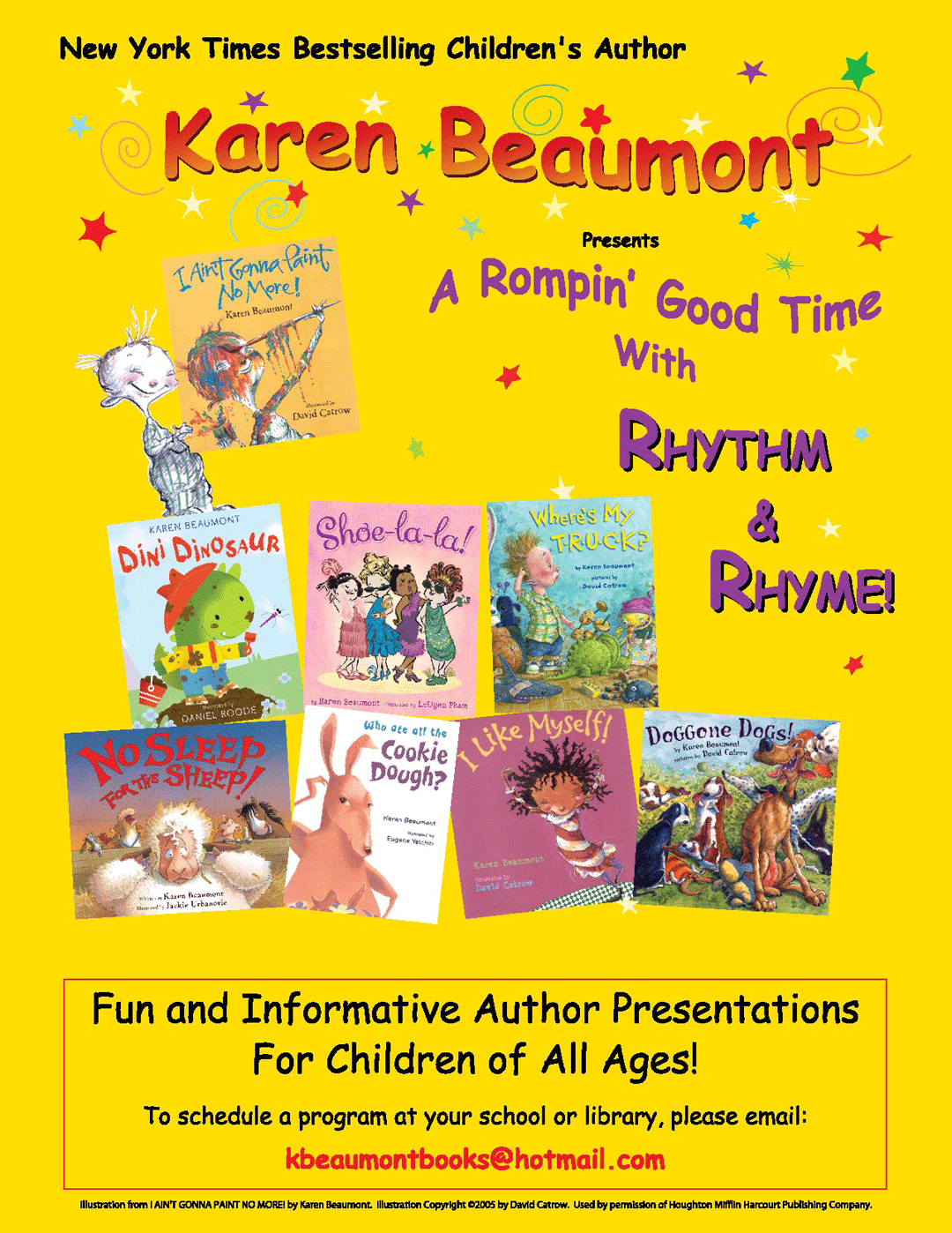 Author Visits from Karen Beaumont
