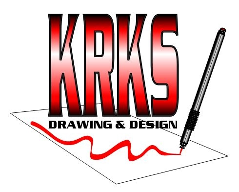 KRKS Drawing & Design logo