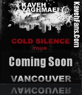 Vancouver Concert 2008 , Coming Soon