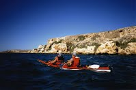 kayaking Dirk Hartog Island Shark Bay