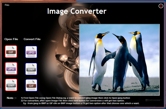 Image Converter With Speaking Progress Bar - Softech Software Solution