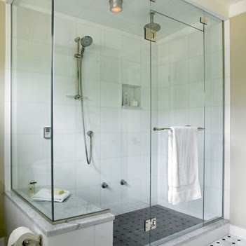 Installation Of Glass Shower Doors Miami Can Make The Room Look