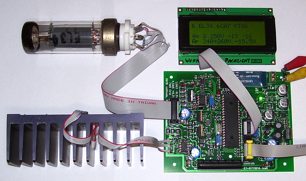 Tube tester and curve tracer - Ken's Schematics