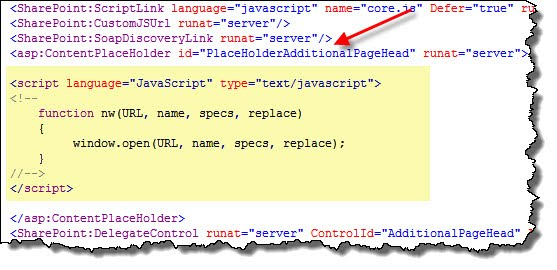 SharePoint - Have your Quick Links Open in a New Window - Kevin
