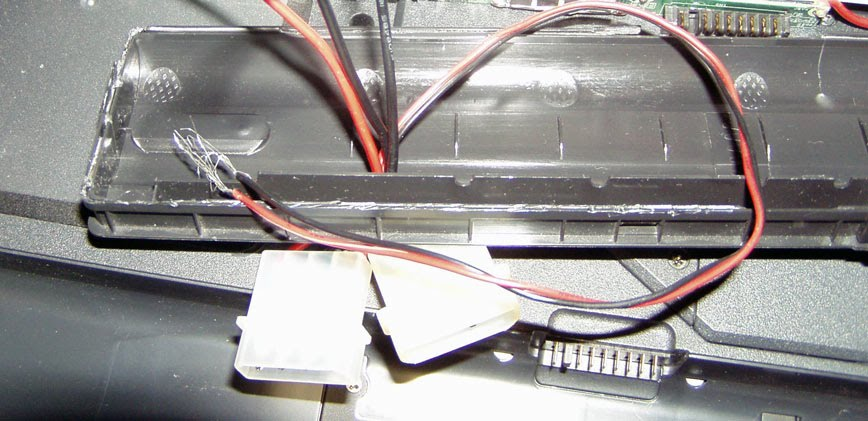Laptop Battery Mod - Step 3  Wiring