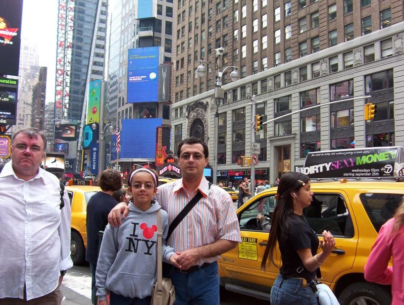 Ghazal& Amir in Times square