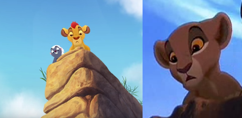 Kion and Kiara parallels Kiara