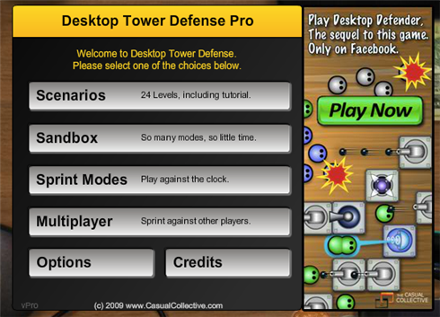 Desktop Tower Defense Pro