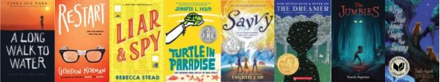 covers of the 2019 Nominated books