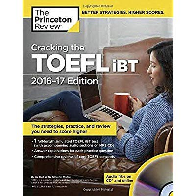 Cracking the TOEFL IBT with Audio CD, 2009 Edition (College Test Preparation)