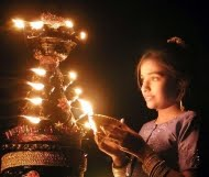 Child with Lamp