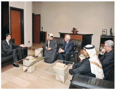 Dr. Bashar Al-Assad with Daily Gulf UAE