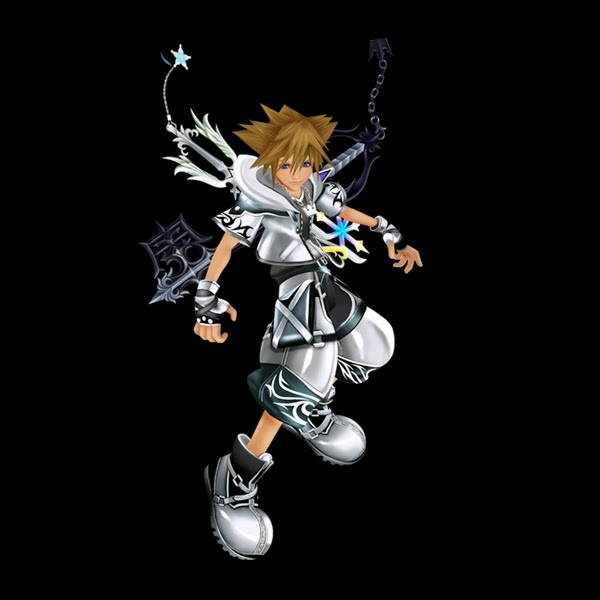 Sora Different Forms - Kingdom Hearts