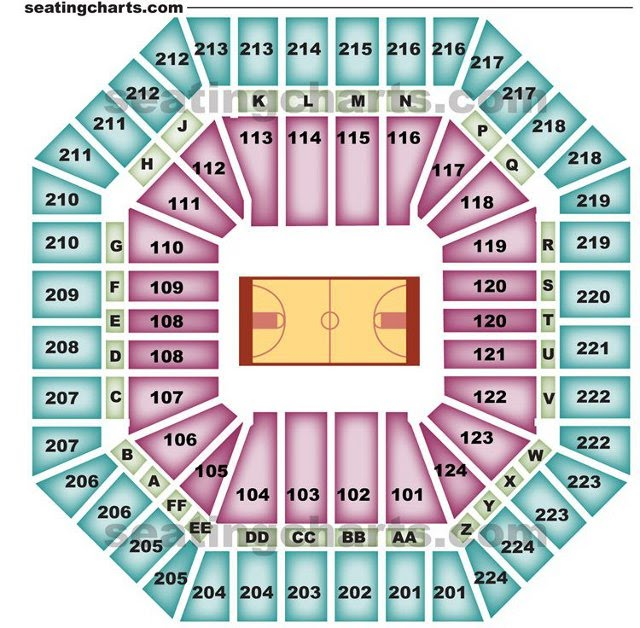 Sacramento kings seating chart kingsseatingchart com