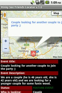 View details about specific event