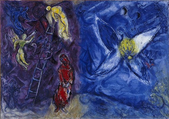 Marc Chagall - The Dream of Jacob - Dreams in Art