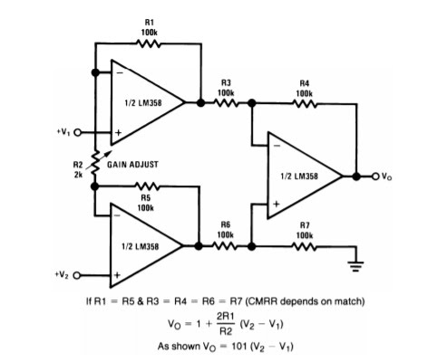 LabIV: Op amp Signal-Conditioning Circuit for 3-Wire RTD