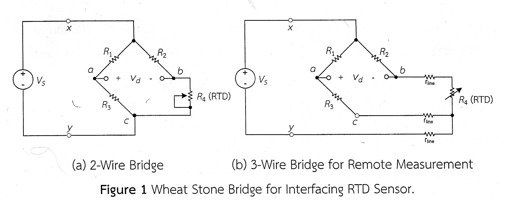 labiv op amp signal conditioning circuit for 3 wire rtd bridgeWheatstone Bridge Single Op Amp Circuit Diagram #5